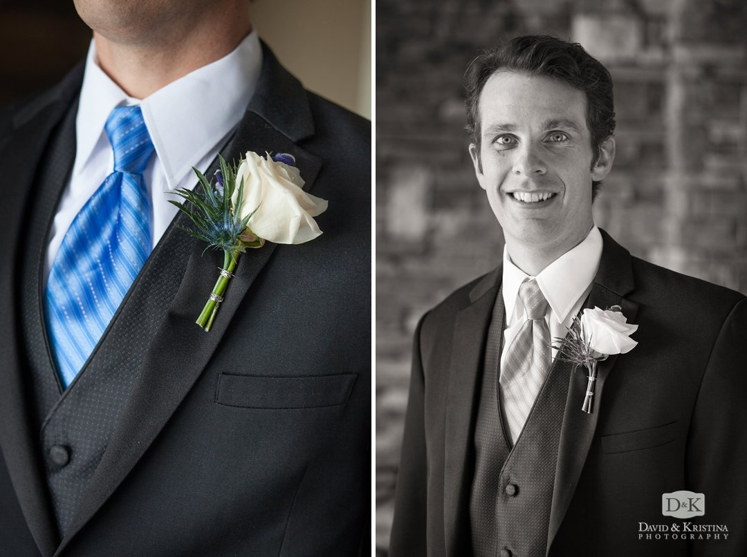 portrait of Mike, the groom