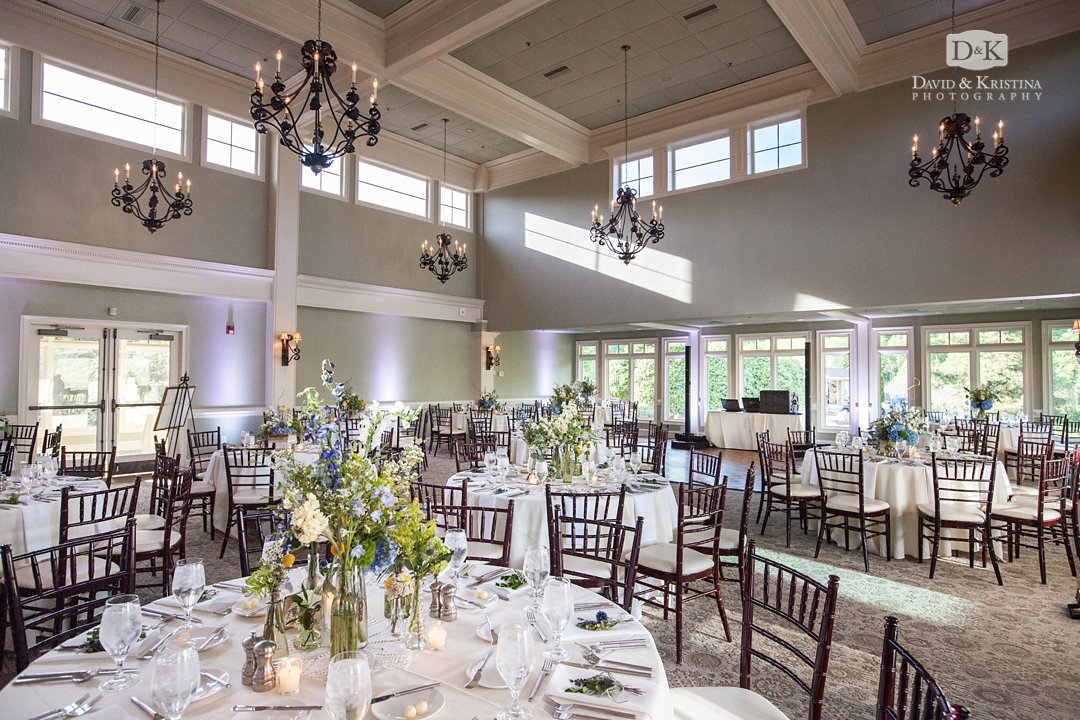 ballroom at The Cliffs at Glassy Clubhouse
