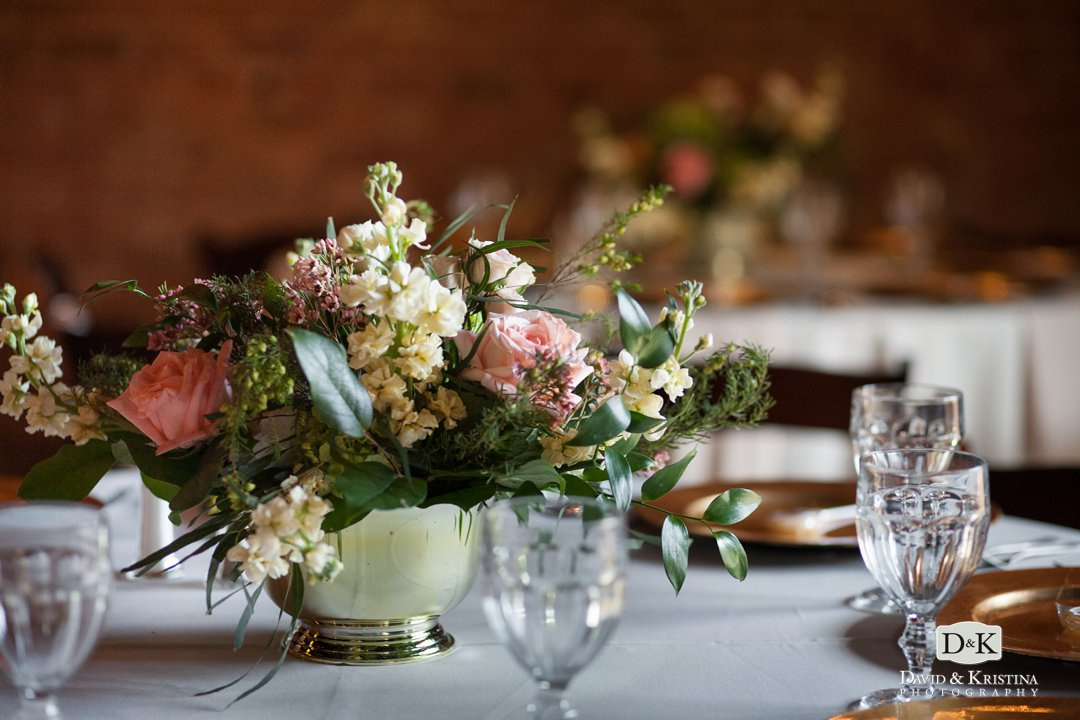floral arrangements by Renee Burroughs Design