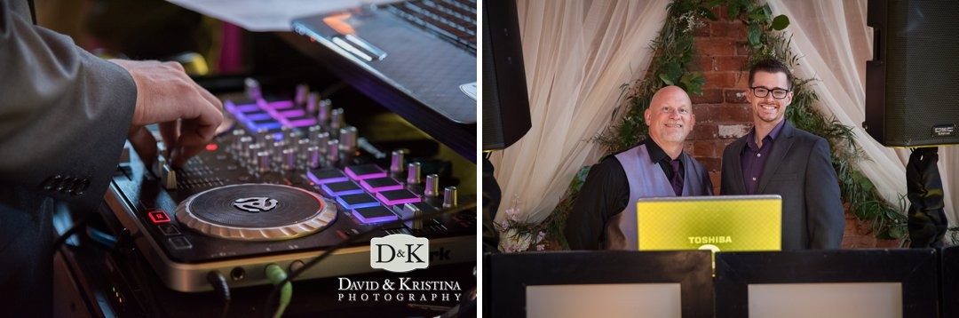 wedding DJ Blake Vaughn of Jumping Jukebox