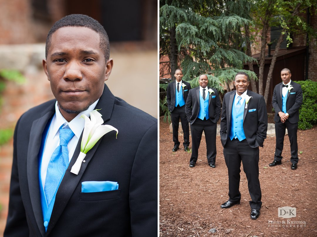 Evan and his groomsmen