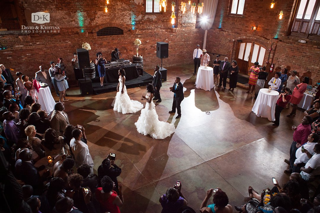 choreographed first dance double wedding