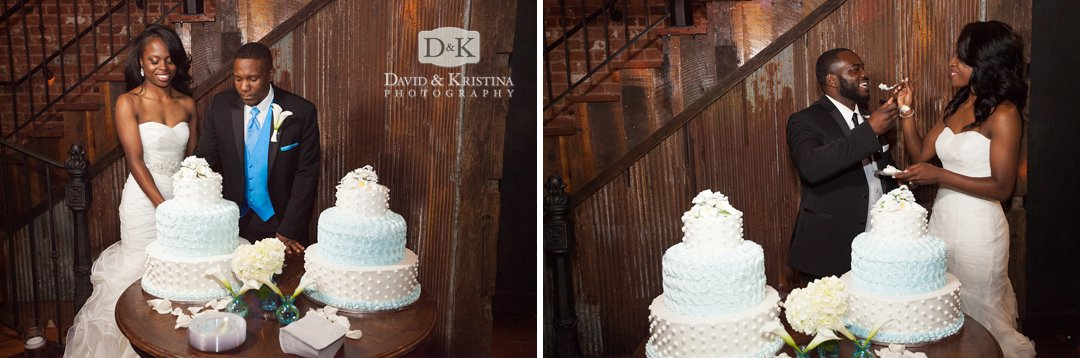 double wedding cakes by Publix bakery