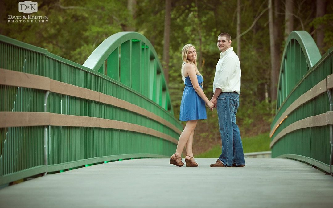 Cleveland Park Engagement Photos | Harold and Madeline