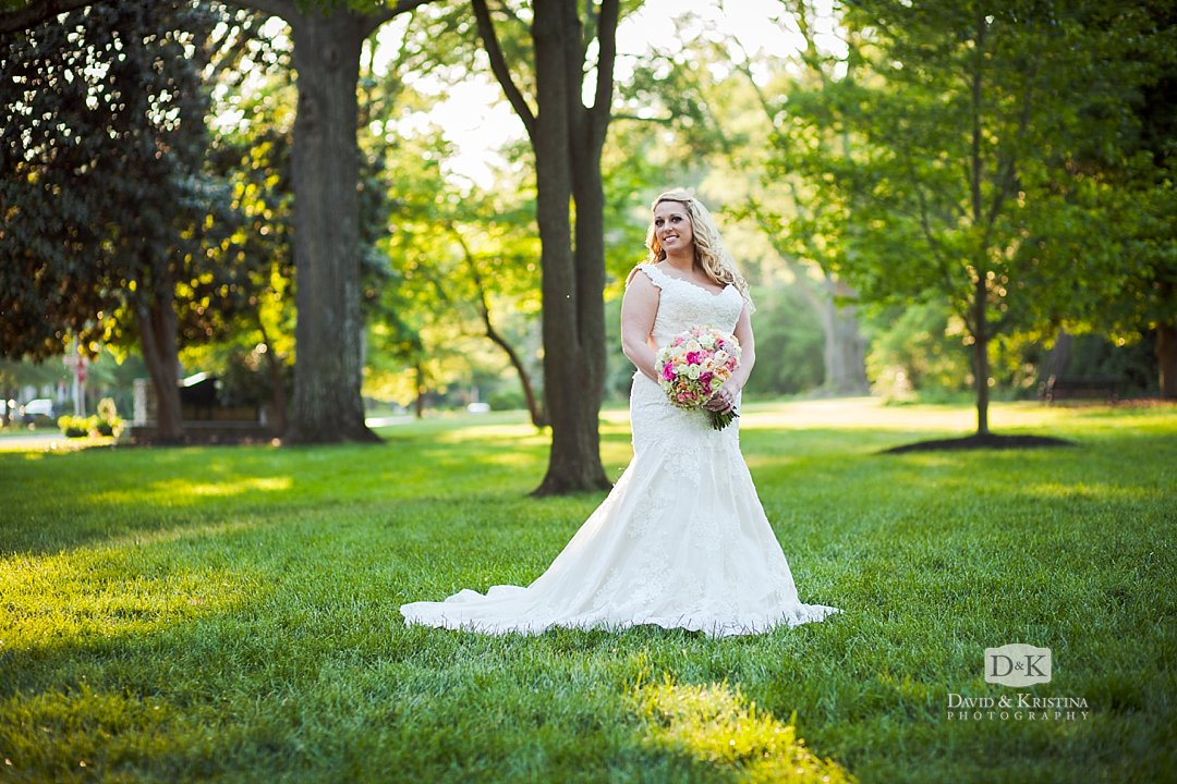 bridal portrait in Anderson