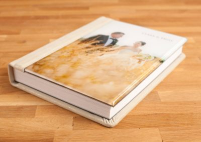 Acrylic Photo Cover + Leather