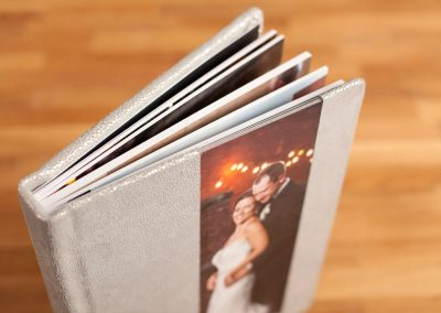 Metal Photo Cover + Leather