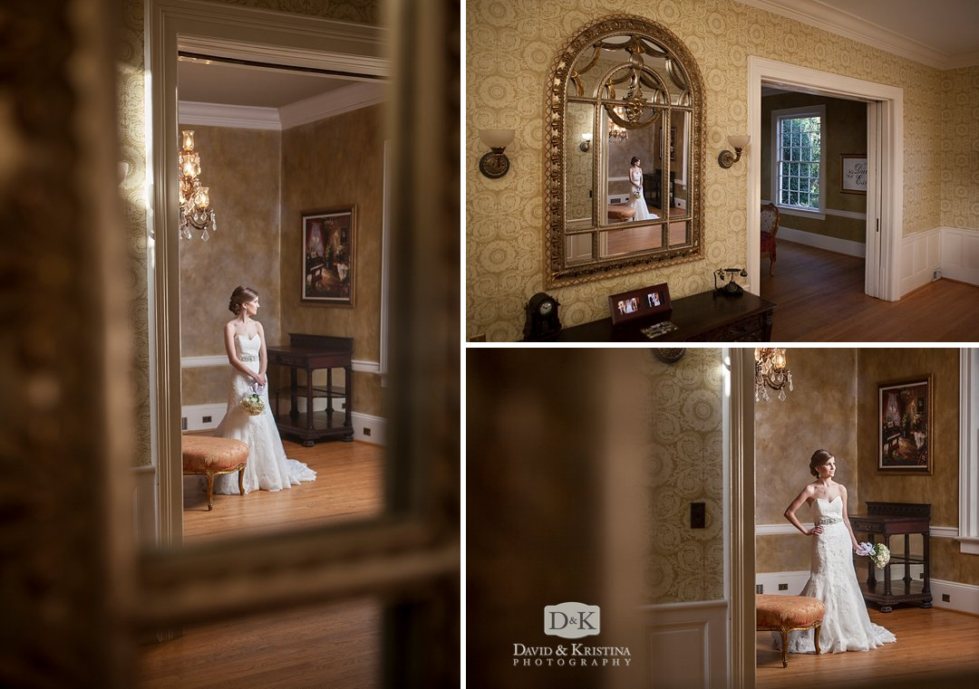 elegant mirrors at Duncan Estate