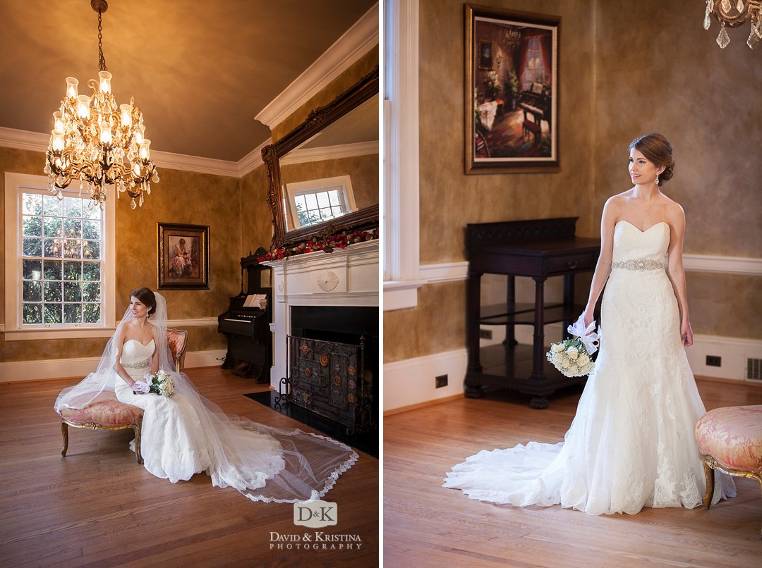 Mandy's bridal portrait at The Duncan Estate
