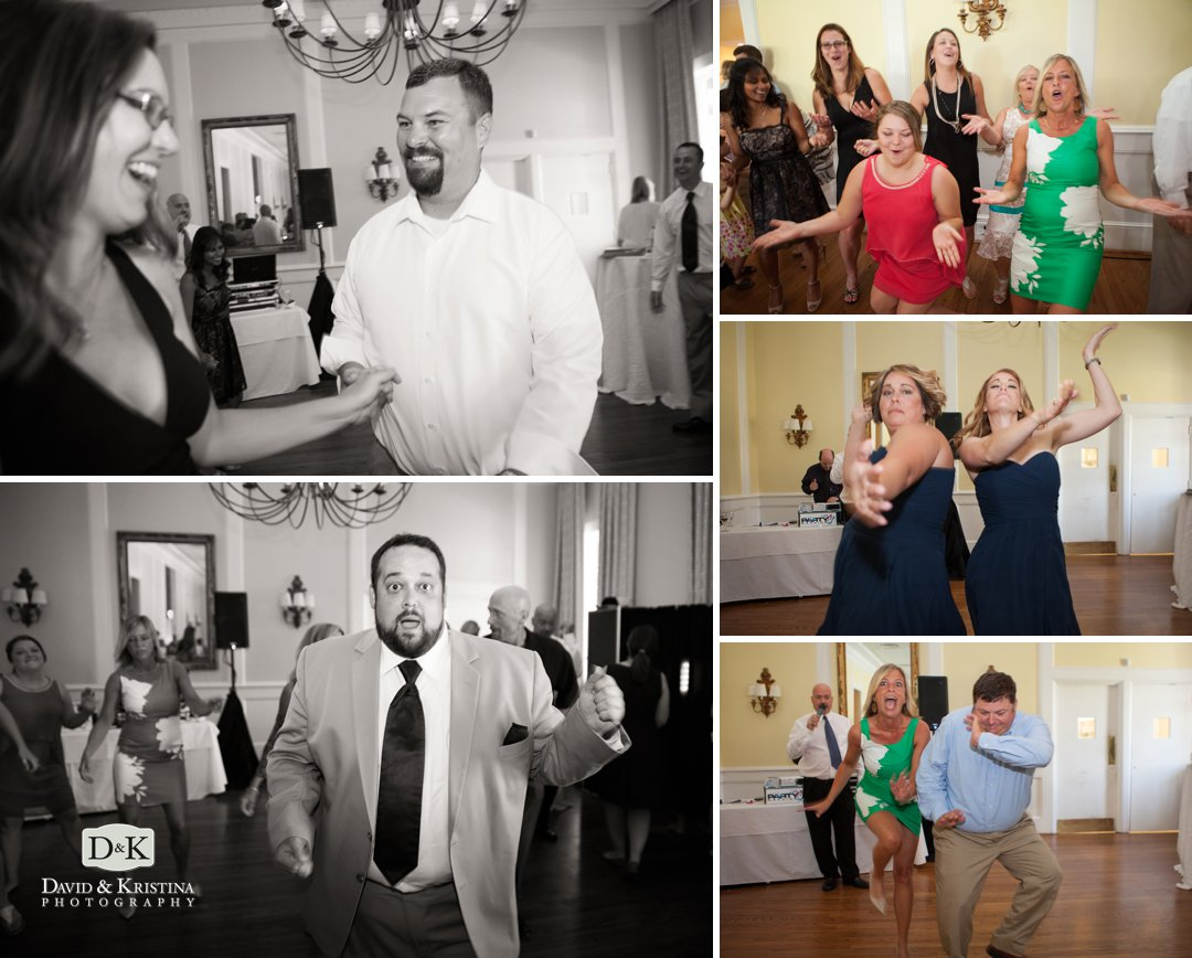 Green Valley Country Club wedding reception