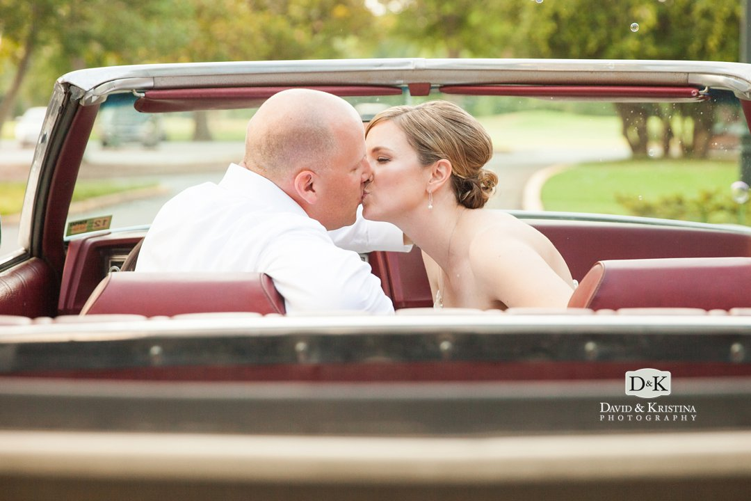 kissing with the top down