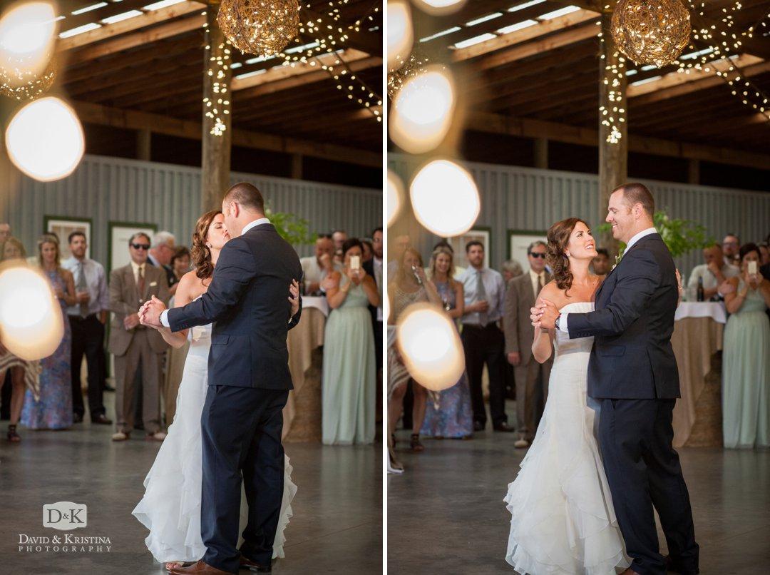 Garrett and Sara's first dance