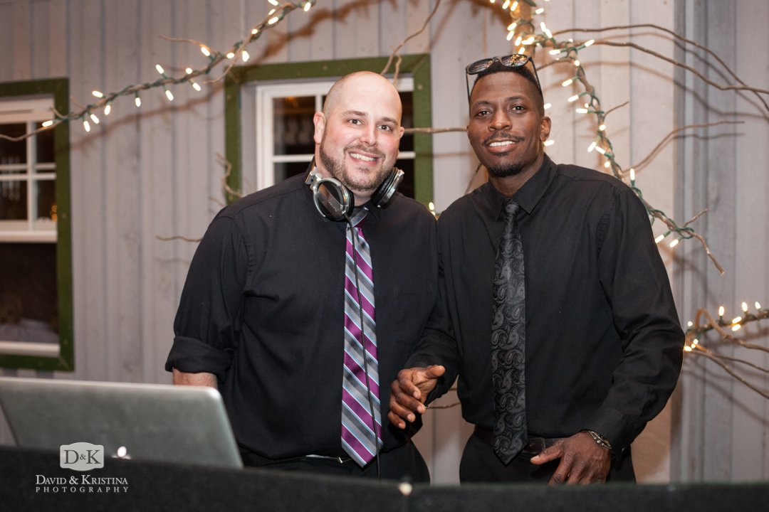 Brian and Adam Uptown Entertainment DJs