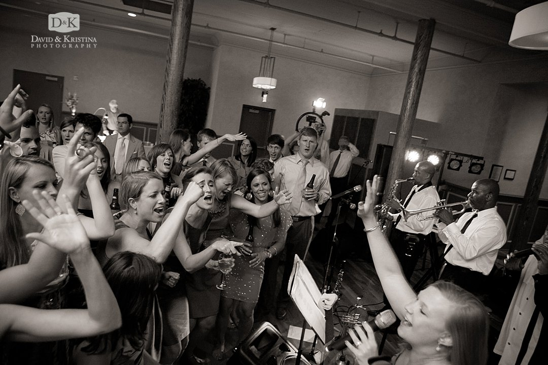 3rd Generation Band at Indigo Hall wedding reception