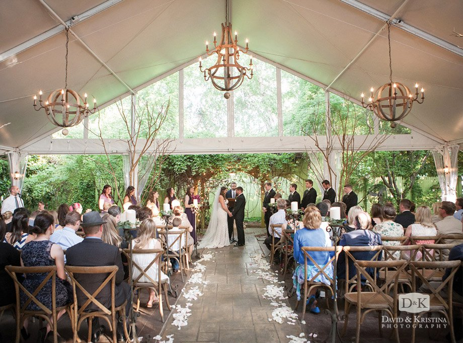Twigs wedding arbor