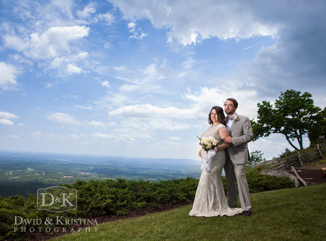 Cliffs wedding at Glassy Mountain Chapel
