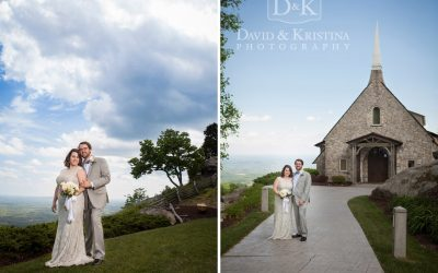 Adam and Jacey's Cliffs Glassy Mountain Chapel Wedding