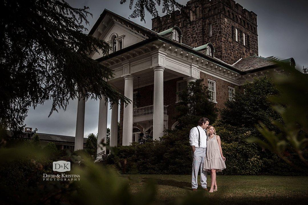 Gassaway Mansion engagement photos