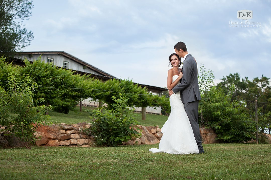barn wedding at Greenbrier Farms in Easley