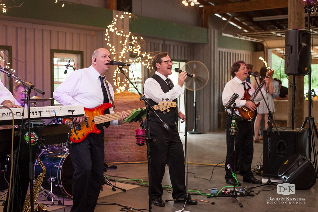 wedding band Hot As A Pepper from Greenville SC