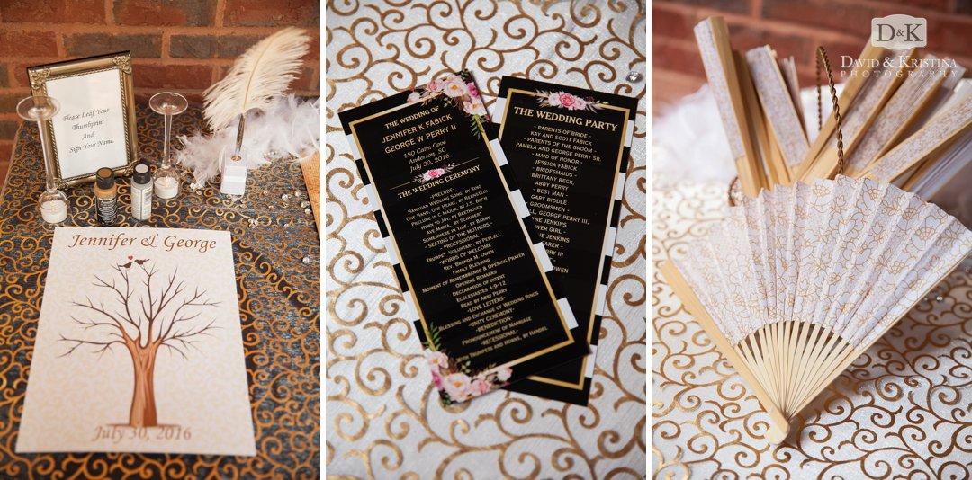 handheld fans for wedding ceremony