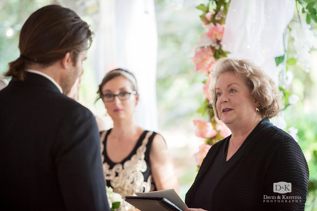 Brenda Owen Wedding Woman officiant and minister