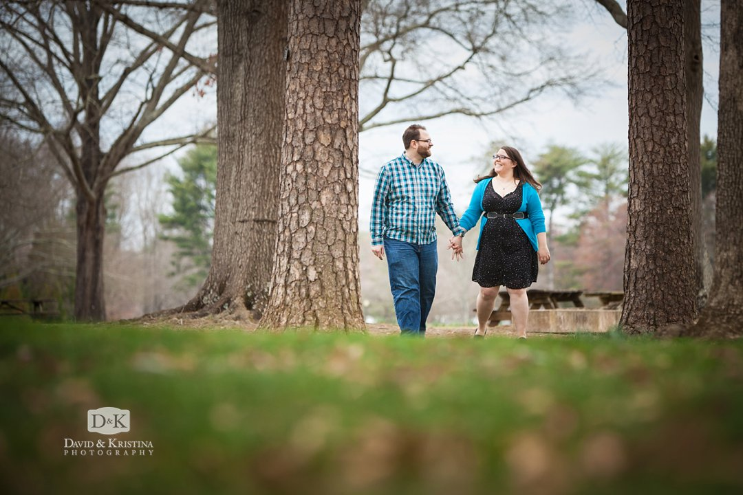 Furman Lake engagement pictures