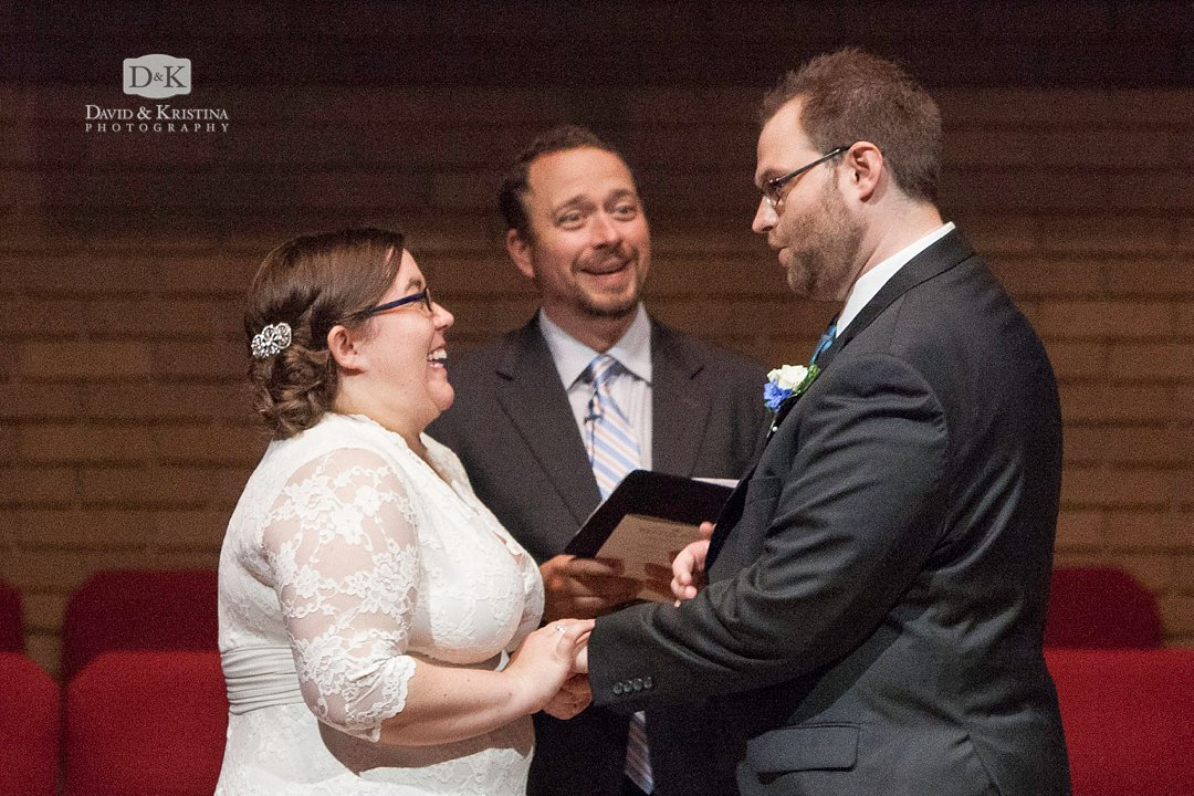 groom says wrong thing during wedding