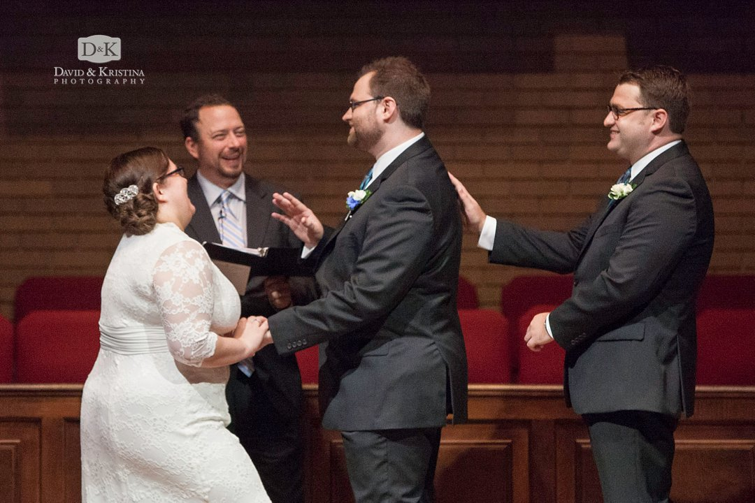 funny things happen during wedding ceremony