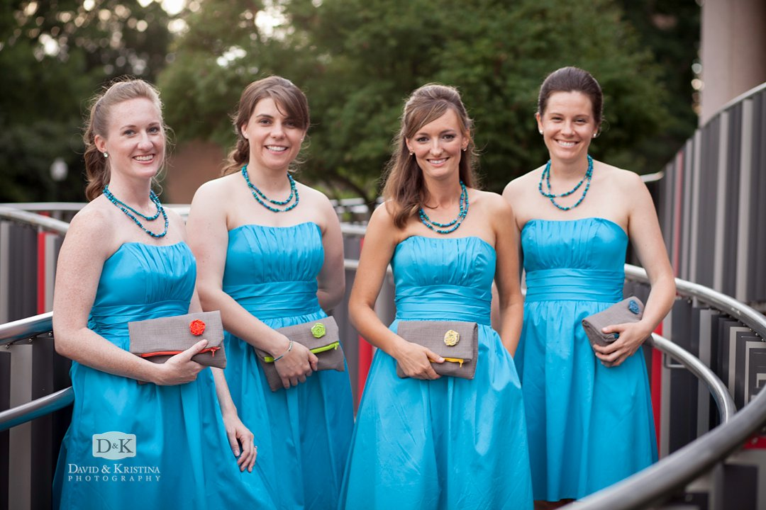 personalized clutches for bridesmaids