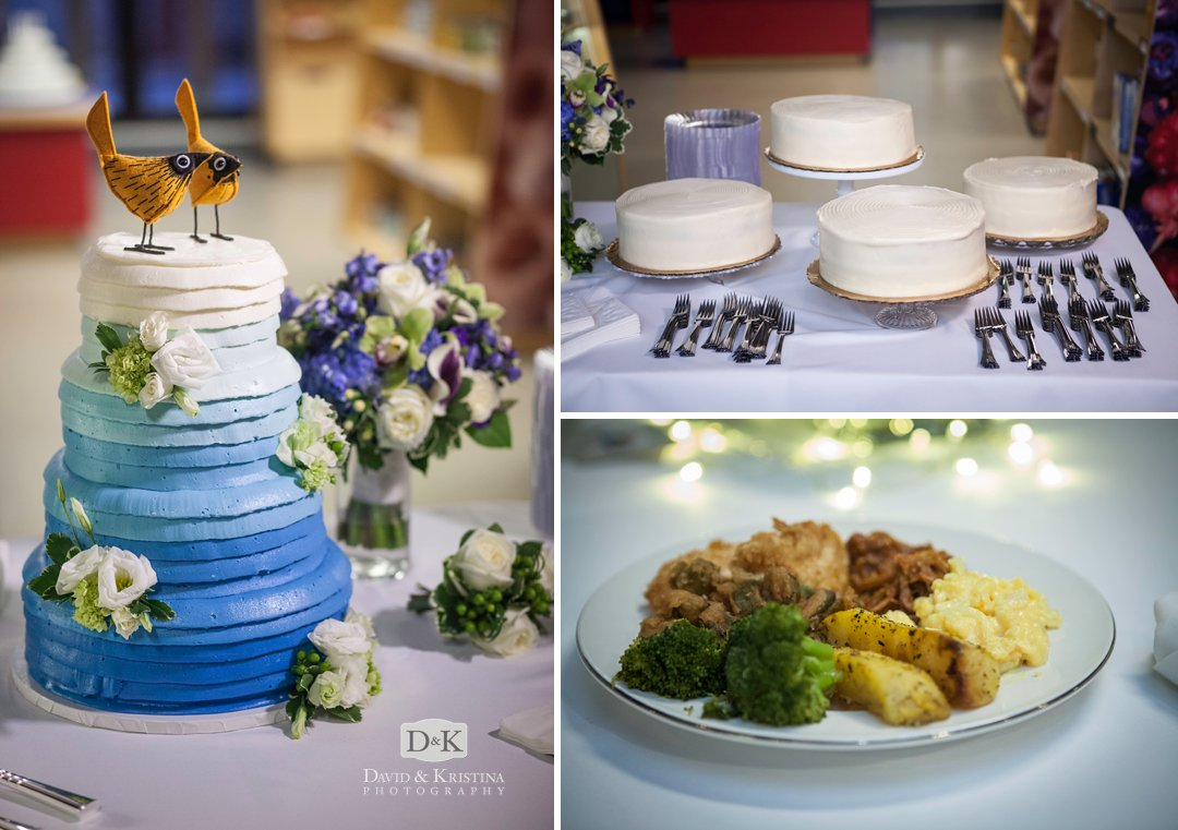 wedding cake and catering by Stax