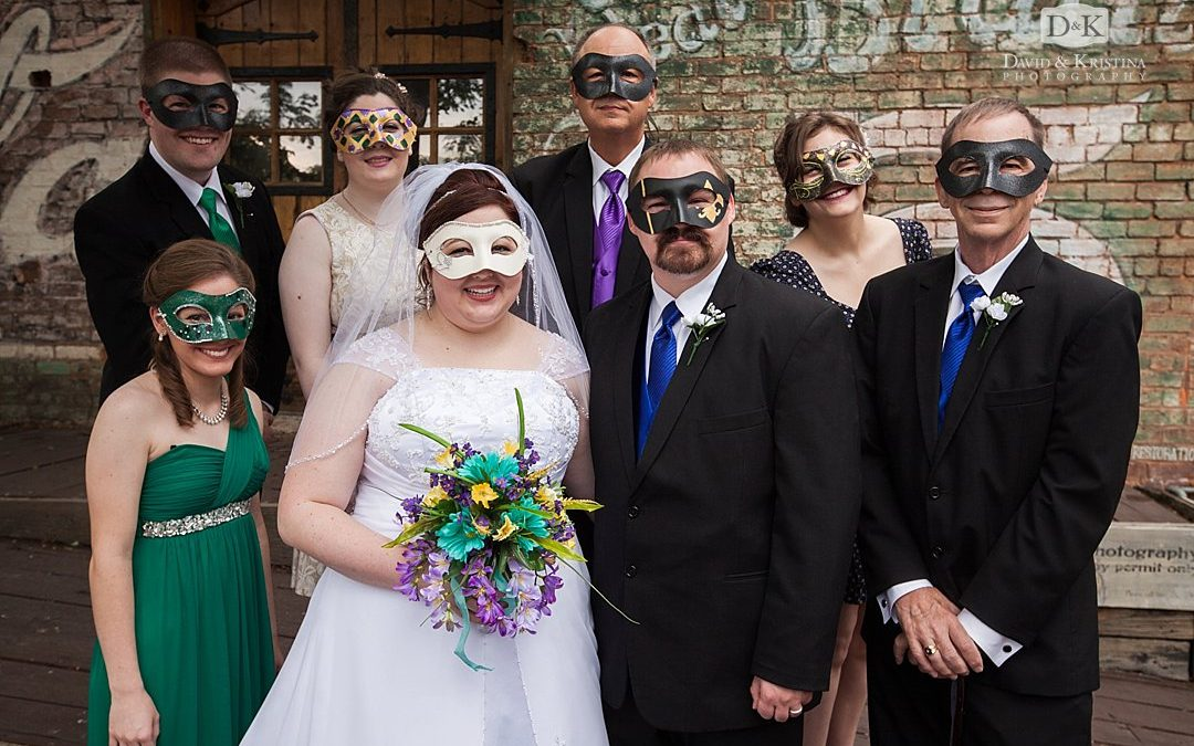 Old Cigar Warehouse Wedding – Mardi Gras Themed Wedding | Zane and Jessica