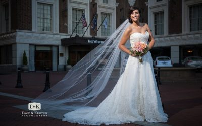Bridal Portraits at Westin Poinsett Hotel | Stephanie Fazzone