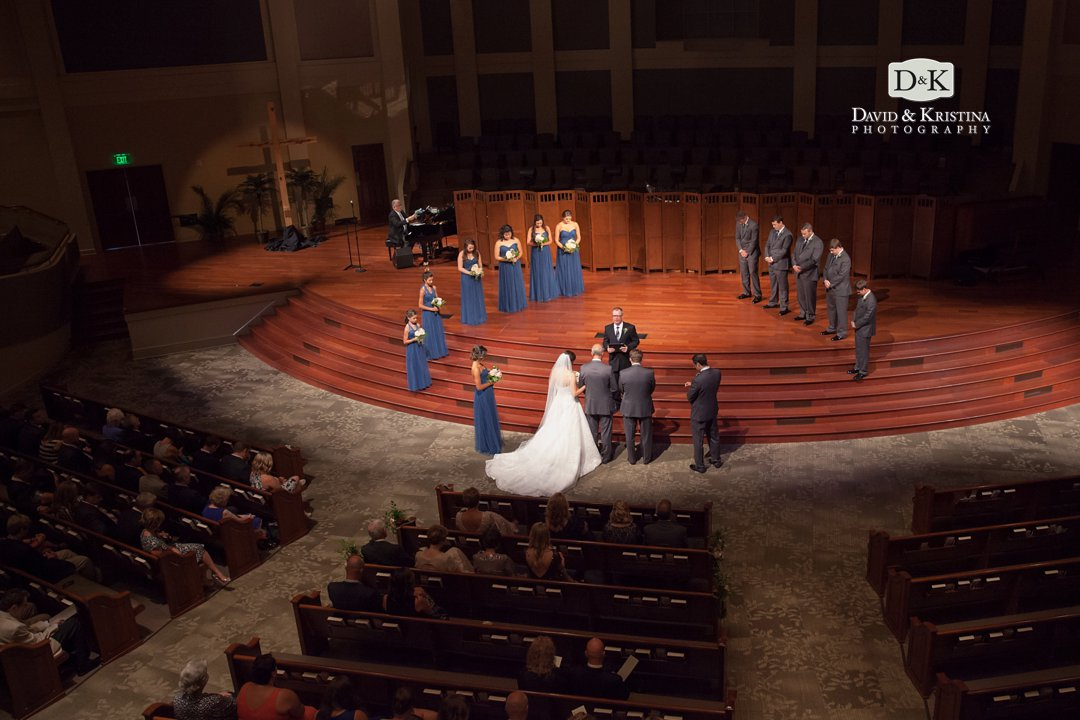 First Baptist Simpsonville wedding ceremony