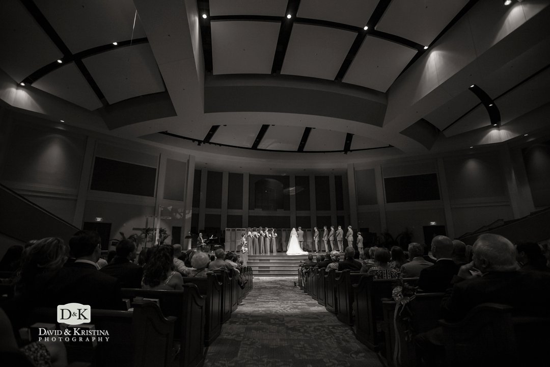 wedding at Simpsonville First Baptist