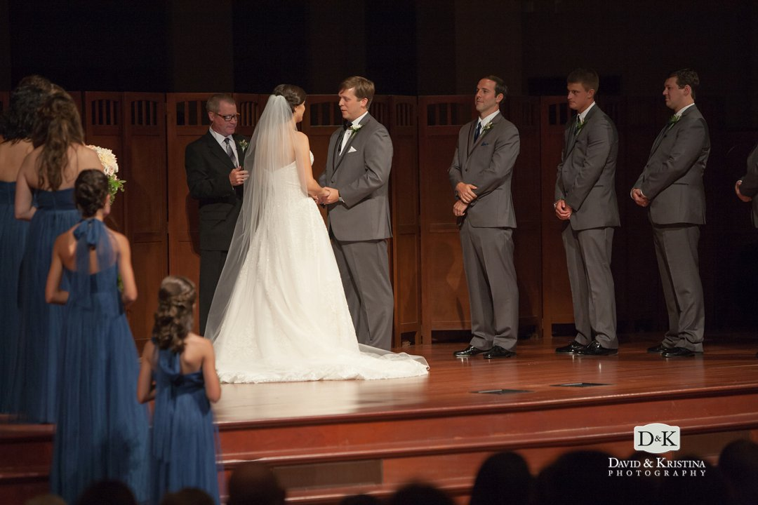 getting married at Simpsonville First Baptist Church