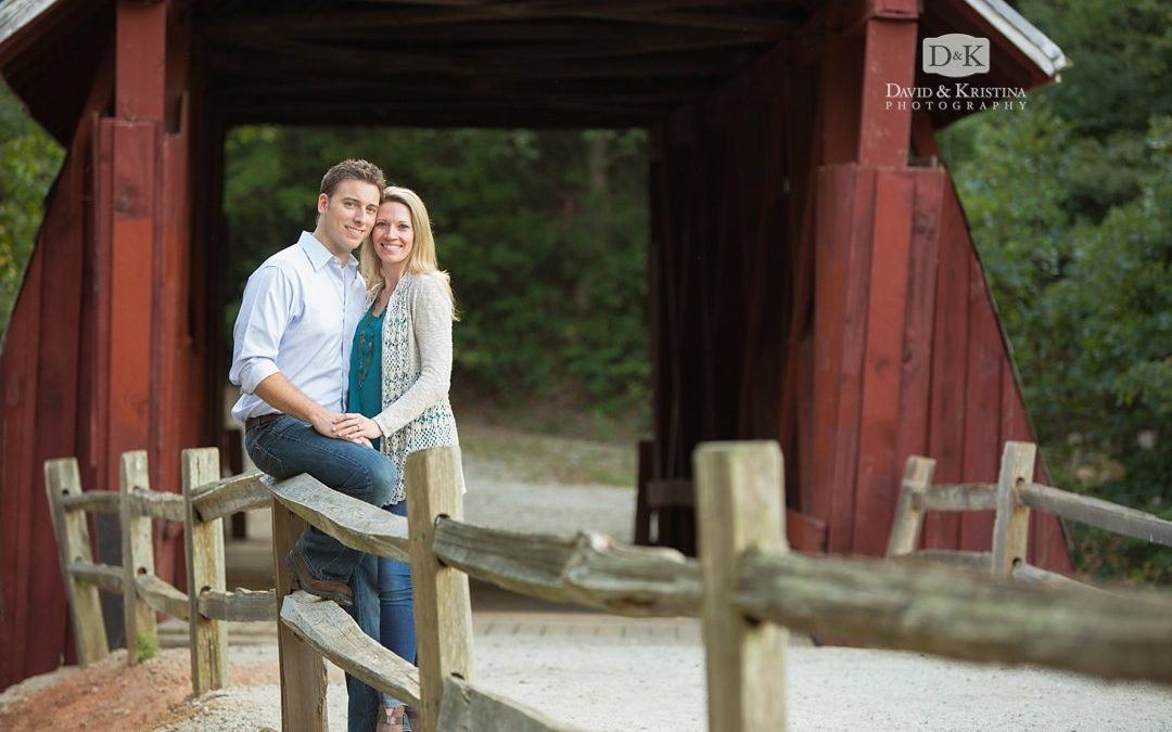 Campbell's Covered Bridge Engagement Photos | Ryan & Chelsea