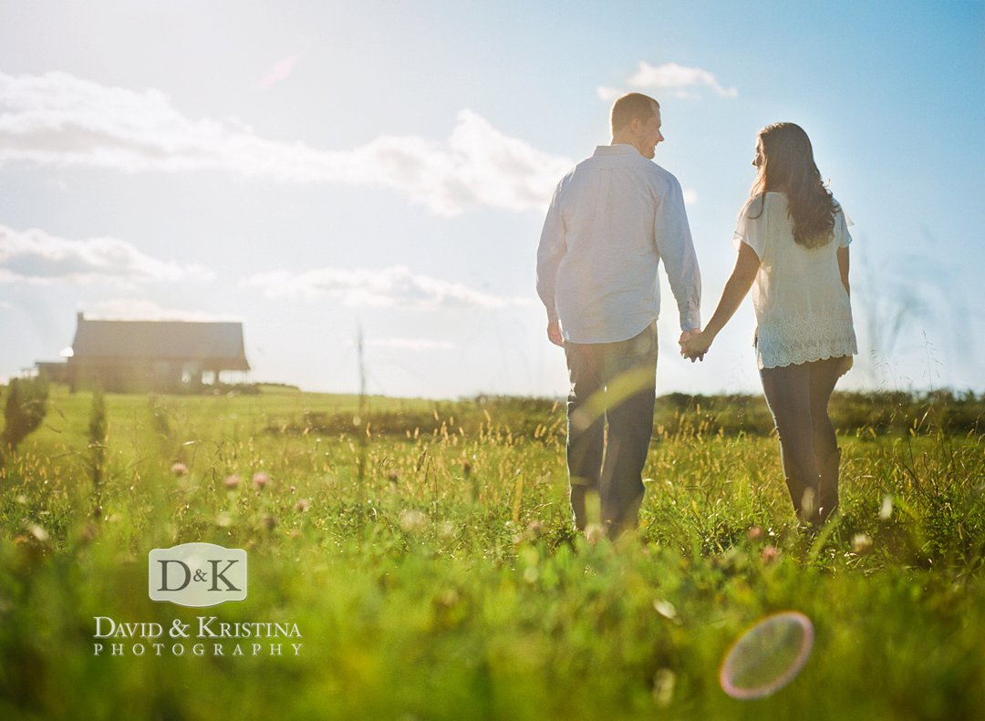 medium format engagement photography