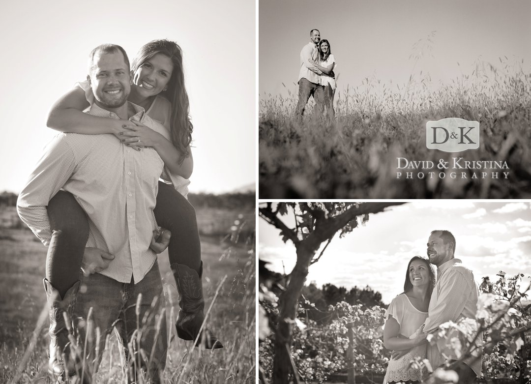 black and white engagement pictures at Chattooga Belle Farm
