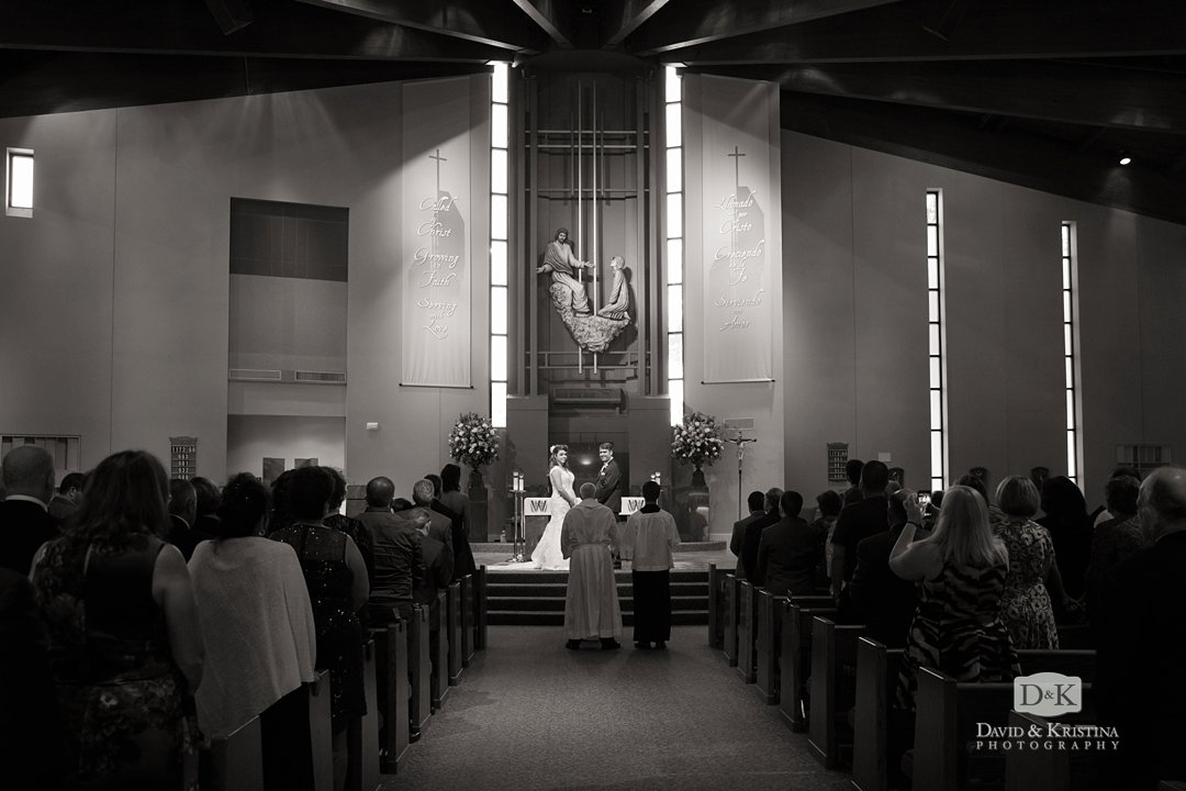 St. Mary Magdalene Catholic wedding