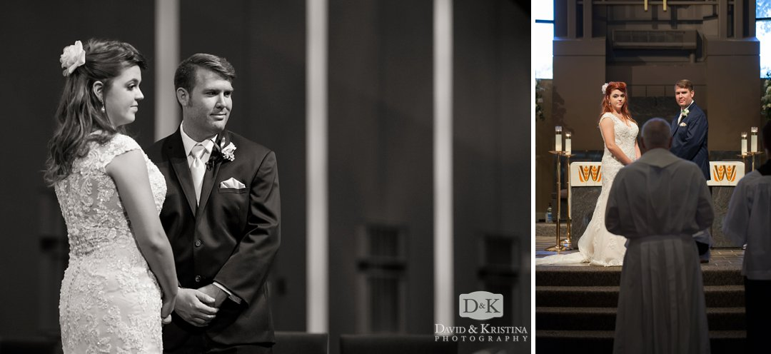 catholic wedding ceremony in Greenville SC