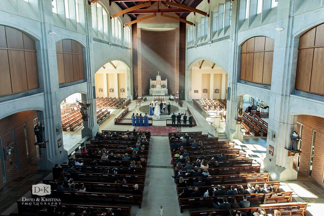 Prince of Peace Catholic wedding