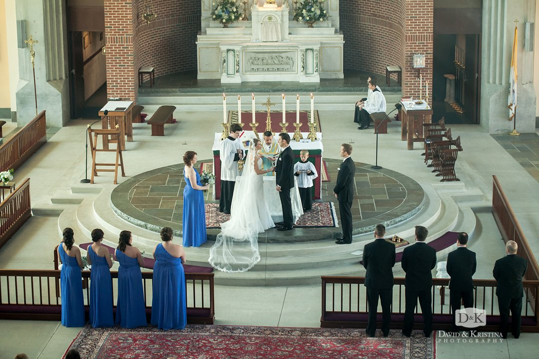 getting married at Prince of Peace Catholic church
