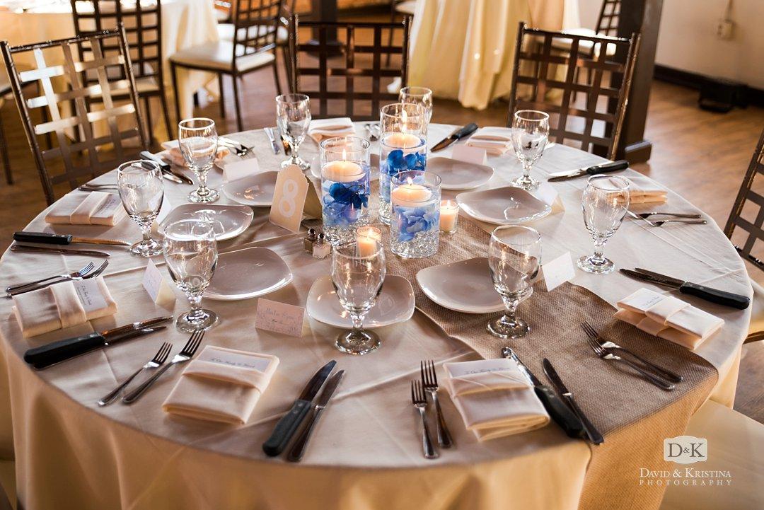 Larkins Cabaret room wedding reception