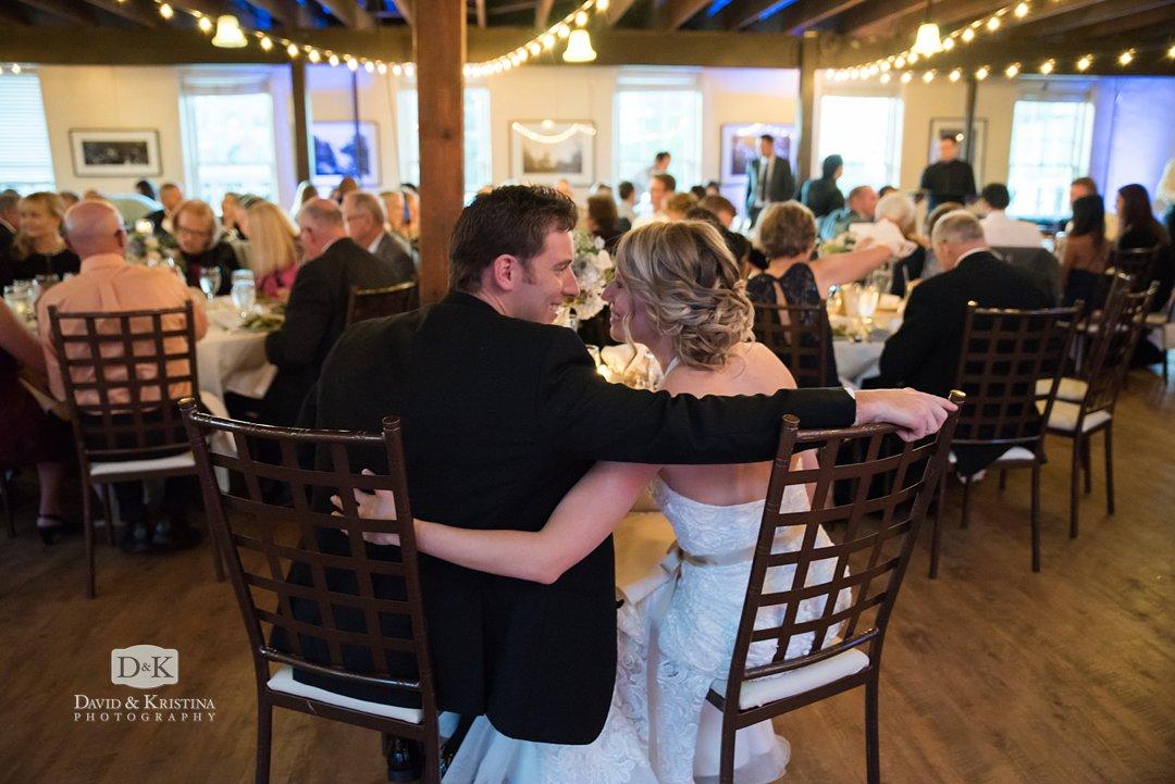 wedding reception at Larkins