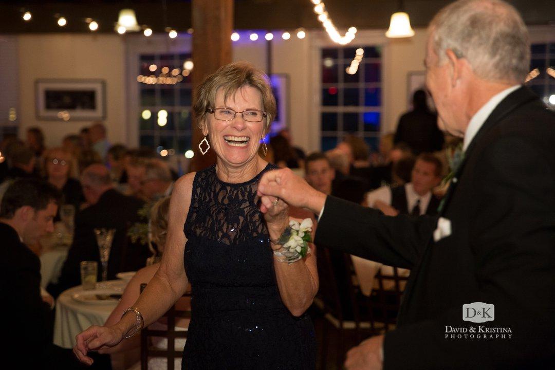 groom's parents dancing