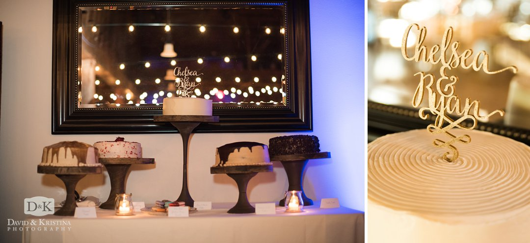 wedding cakes by Brick Street Cafe