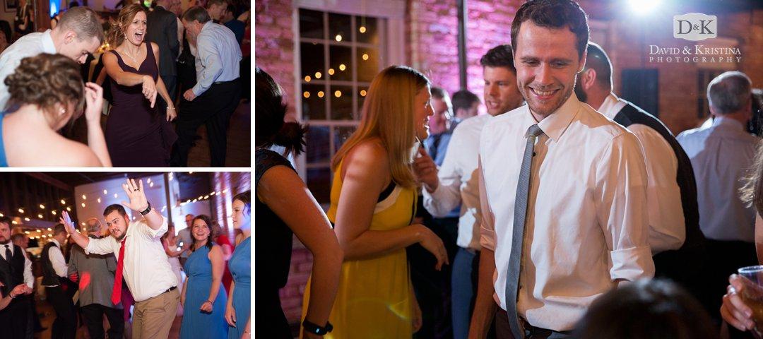 Party Machine wedding DJ at Larkins