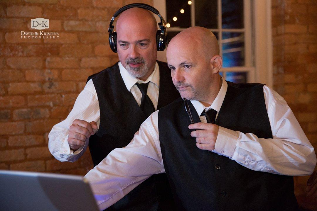 Jeff Hayes wedding DJ at Larkins