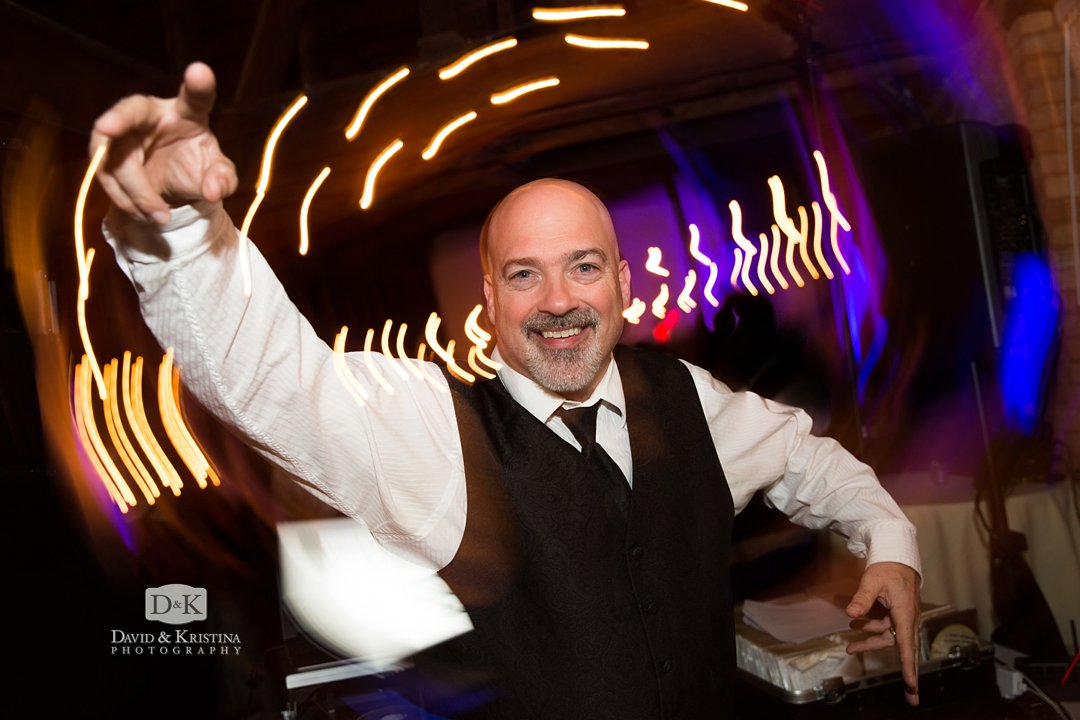 Jeff Hayes wedding DJ